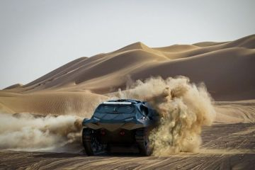 UAE company creates the Storm, a cross between 'Lamborghini and a Stealth fighter'