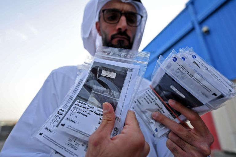 Two arrested after faking Covid-19 PCR tests at Dubai airport