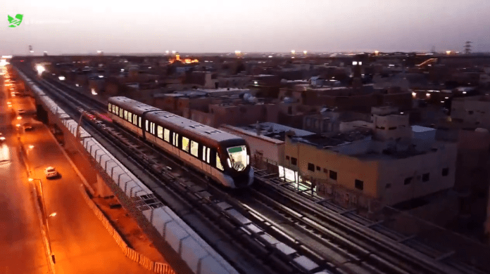 Riyadh Metro train continues its operational tests. New video