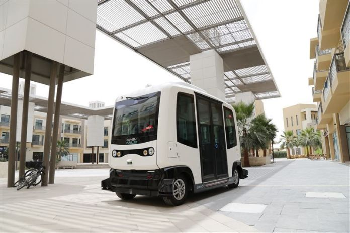 Dubai's RTA starts driverless vehicle trial in Sustainable City