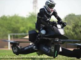 Dubai Police 'starts training' on flying bikes, eyes 2020 launch