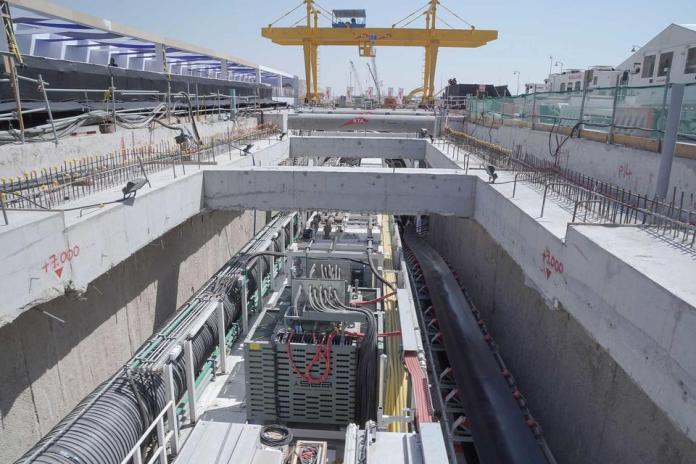Spanish firm reveals progress on Dubai's Route 2020 metro extension
