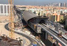 Dubai's Route 2020 metro extension '70% complete'
