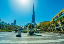 New heart sculpture unveiled in Dubai Staff Report/Dubai