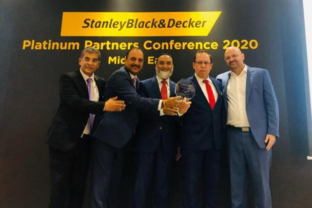 """Blue Ocean Globalawarded with """"Platinum Partner Excellence Award"""" by Stanley Black & Decker for its outstanding accomplishment"""