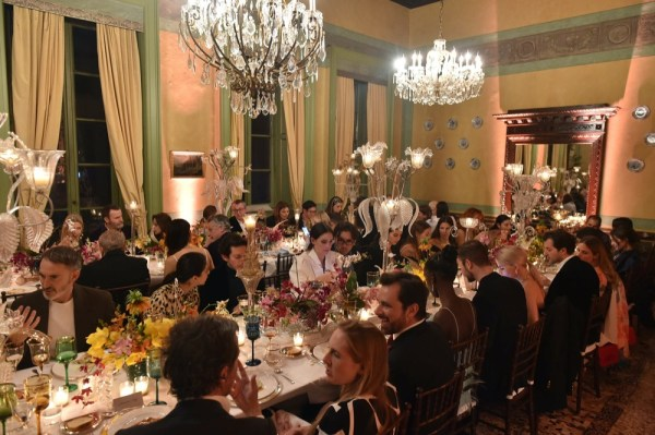 POMELLATO AND VOGUE ITALIA CO-HOSTED A GLAMOUROUS FASHION WEEK EVENT TO CELEBRATE VOGUE'S PROTECT VENICE ISSUE