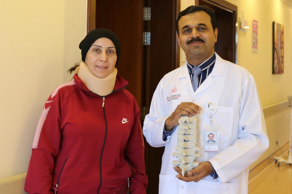 First time in UAE, hospital performs Cervical spine surgery using 3D printingtechnology