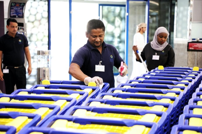 Al Bastaki: Union Coop Trolleys are Sanitized Regularly
