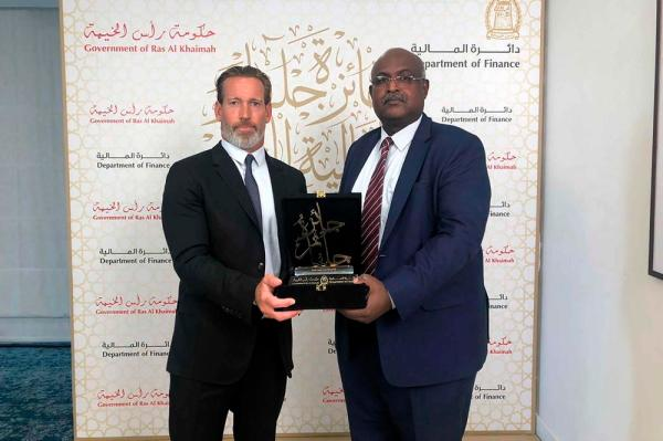 Government of Ras Al Khaimah awards Banks Legal with the2019 Julphar Finance Award for Excellence