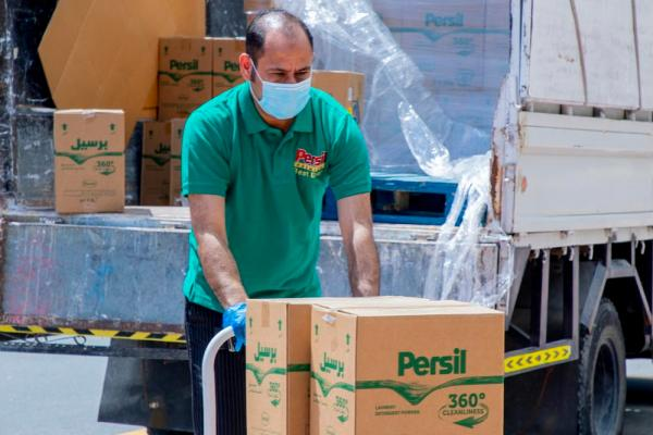 UAE frontliners receive 50,000 liters of cleaning products