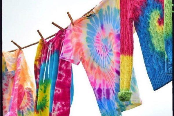 Tie-Dye how to step by steb