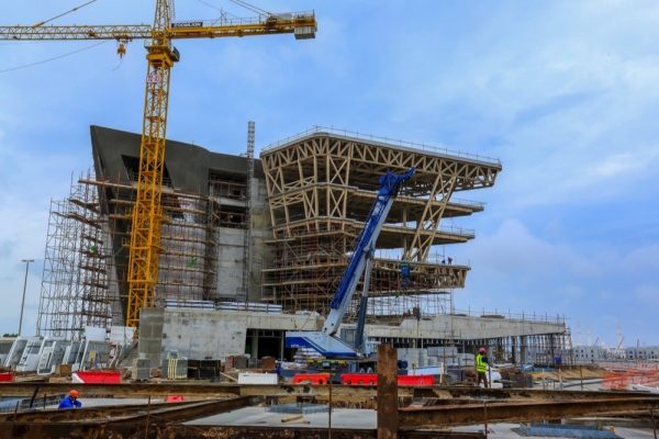 AL QANA CONSTRUCTION IS ON TRACK FOR COMPLETION