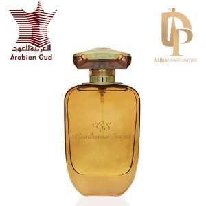 Gentleman Secret Eau de parfum Arabian Oud Fiole Avec Logo