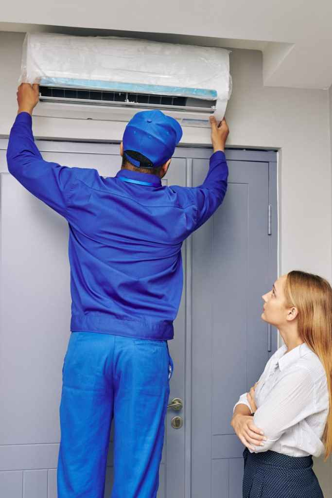 split ac installation
