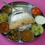 Vegetarian Thali in Balaji Bhawan