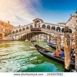 stock-photo-panoramic-view-of-famous-canal-grande-from-famous-rialto-bridge-at-sunset-in-venice-italy-with-245507692