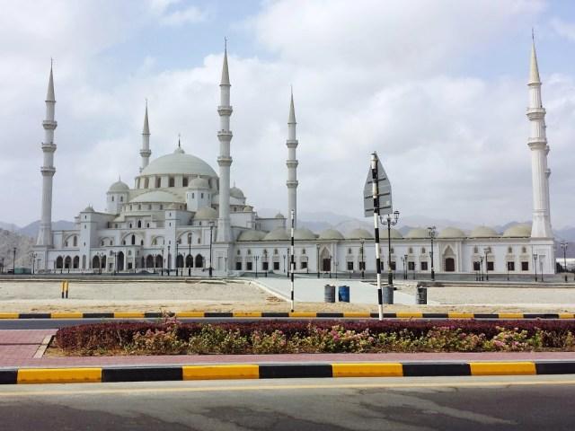 Sheikh Zayed Mosque in Fujairah