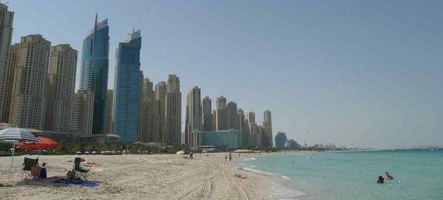 Jebel Ali beach dubai