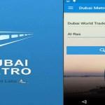Dubai Metro Train App Image