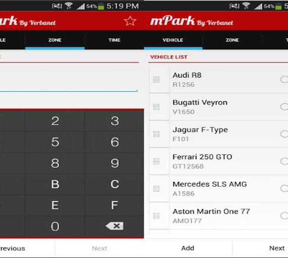 Mparking Dubai App Image