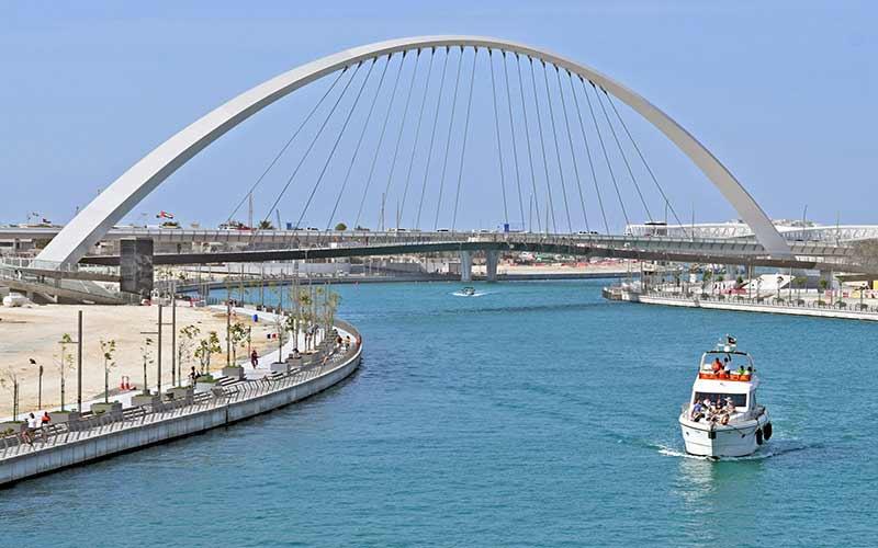 Dubai Water Canal Image
