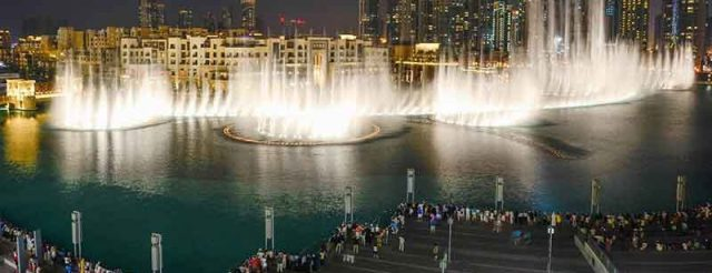 Dubai Fountain Image