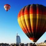 hot air balloon ride dubai