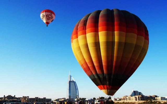 Hot Air Balloon Ride Dubai Image
