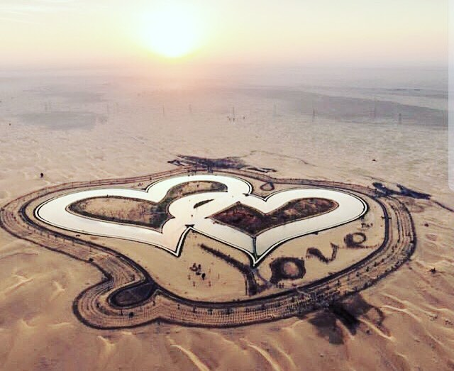 Love lake Dubai photos