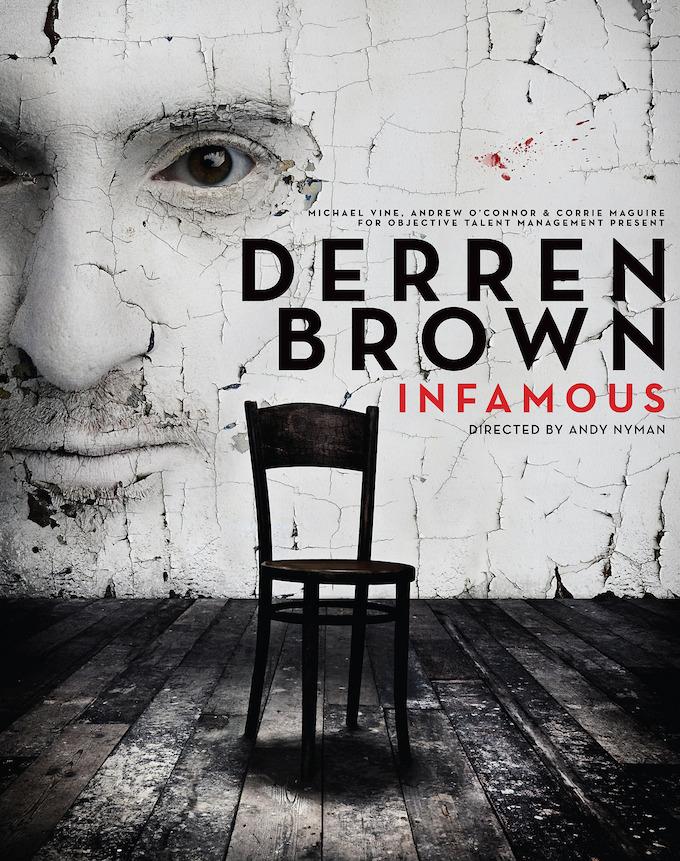 Derren Brown's Infamous show coming to Dublin March 2014
