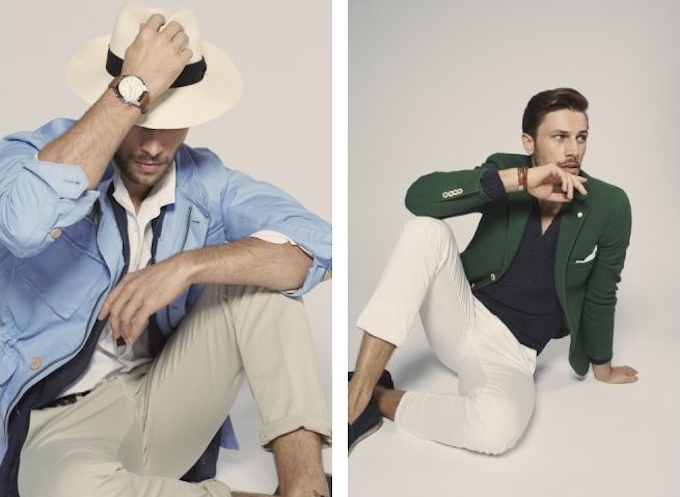 SS14 for men by Massimo Dutti, photos by Mario Testino