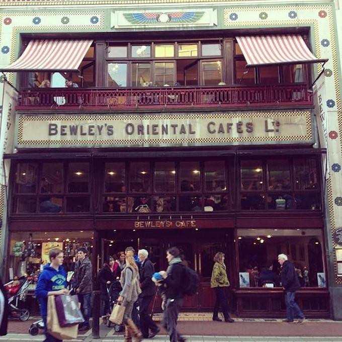 Bewley's Café facade - picture by Helen H. on foursquare