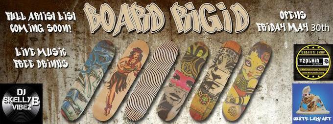 Board Rigid exhibition in Dublin