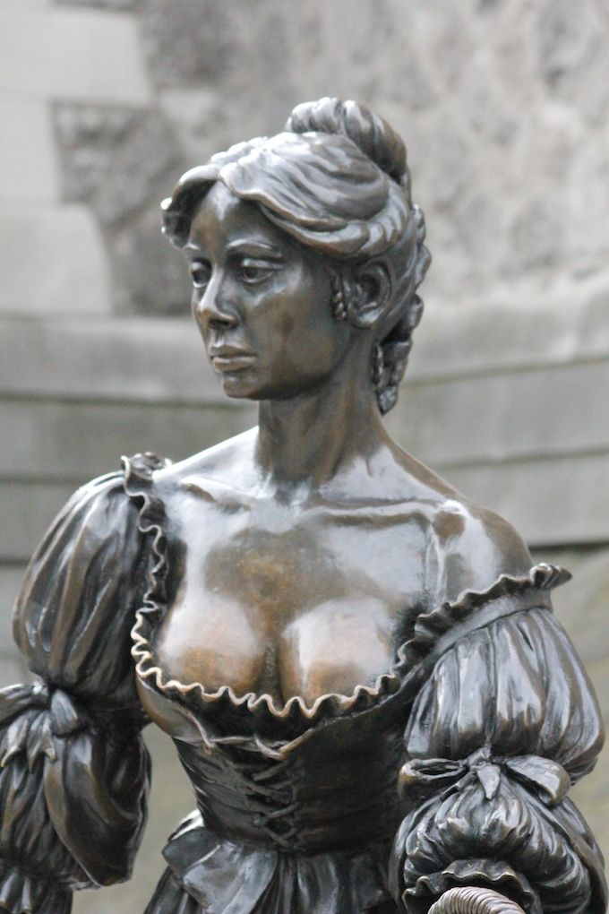 Molly Malone - refurbished and relocated in Dublin