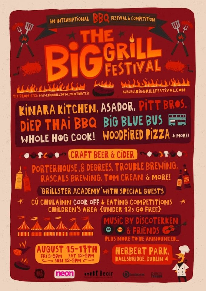 The Big Grill in Dublin August 2014