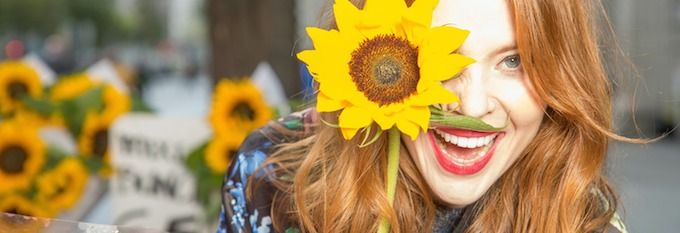 Angela Scanlon, the face of DFF14