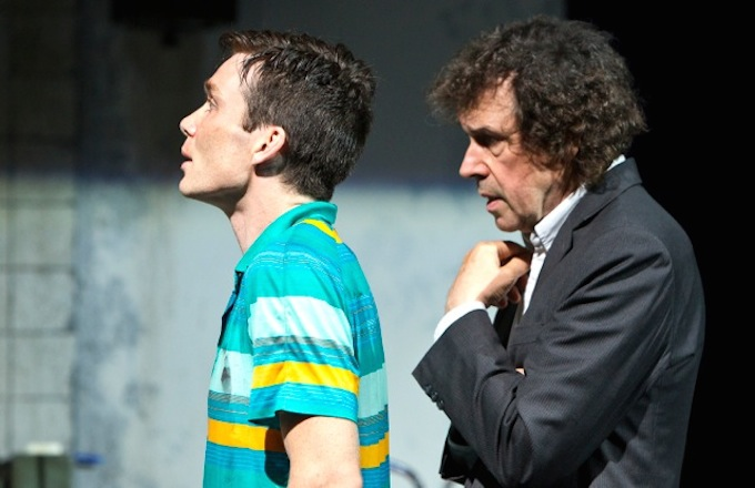 Cillian Murohy and Stephen Rea in Ballyturk © Patrick Redmond 2014