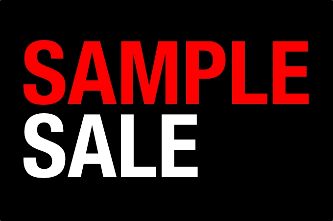 Sample Sale in Dublin
