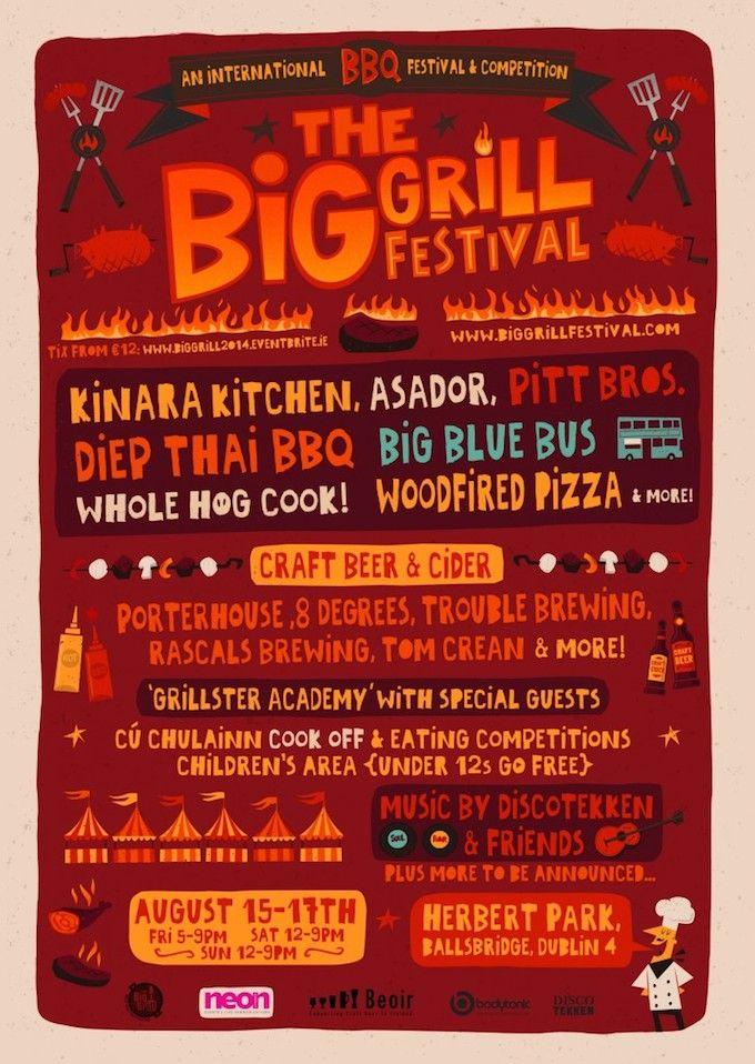 The Big Grill Festival in Dublin