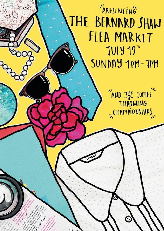Bernard Shaw Flea Market Dublin July 2015