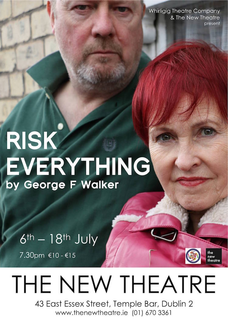 Risk Everything at New Theatre poster