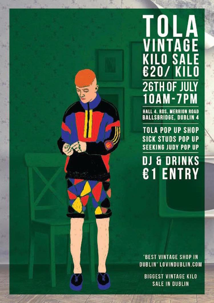 Tola Vintage Kilo Sale July 2015