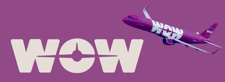 WOW air from Iceland