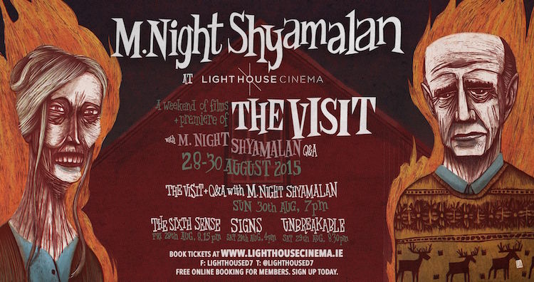 M. Night Shyamalan @ Light House Cinema