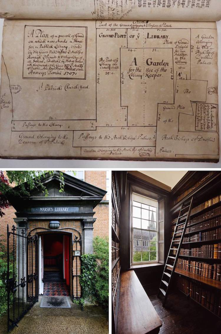 Marsh's Library in Dublin 8