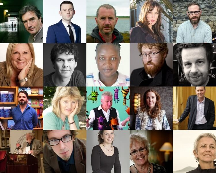 Authors appearing at 2015 Dublin Book Festival