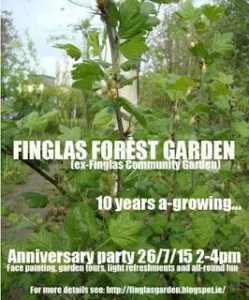 Finglas Community Garden Open Day Poster