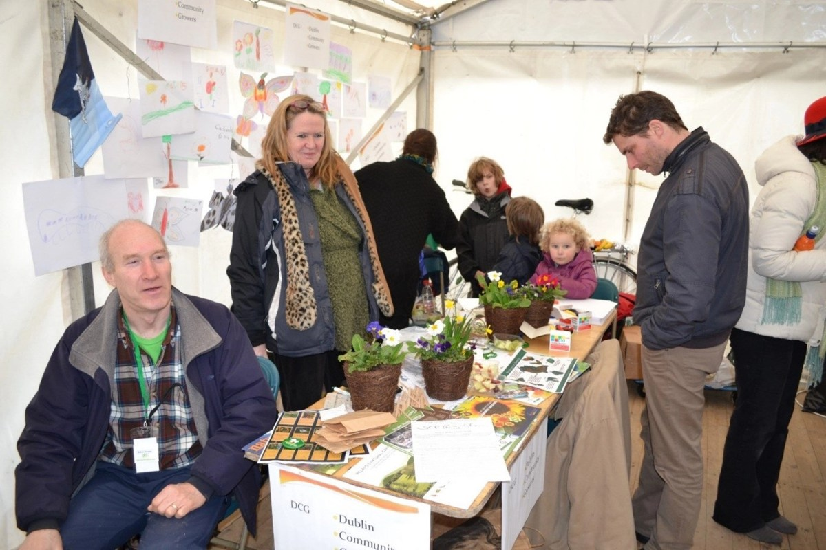 DCG stand at the 2012 St Patrick's Festival