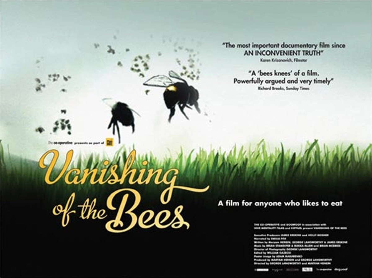 Vanishing the Bees documentary promotional poster