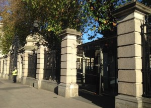 Visitors Gate to Leinster House